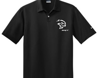 "SRT Hellcat Nike Polo ""Officially Licensed DODGE"""