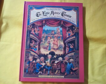 The Little Actors' Theater, a reproduction of an antique book by Isabella Braun