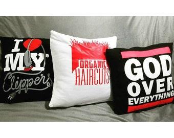 Custom T-Shirt Pillow Cover