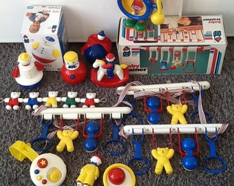 Ambi toys. Vintage toys. Baby. Box. Collection.