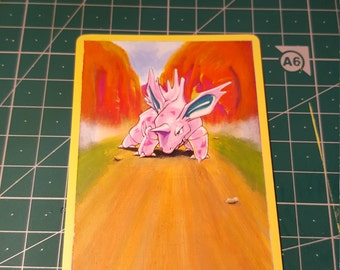 Hand Painted Pokémon card - Choose your favourite