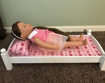 Wooden Doll Bed for your American Girl Doll