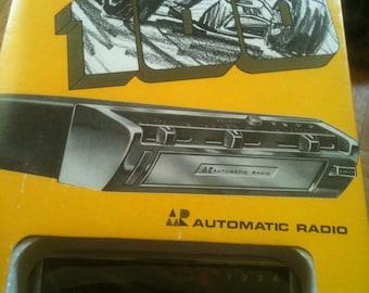 Vintage Under Dash 8 Track Tape Player