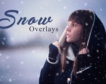 20 Snow Photoshop Overlays, Blowing Snow, Photo Overlay, Winter Overlay, Snow Overlay, Snow Texture Digital Backdrop, Realistic Snow Overlay