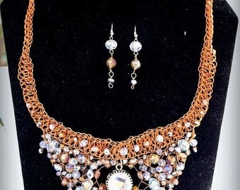 Vintage Style Crystal Set
