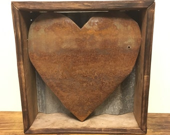 Heart Shadow Box