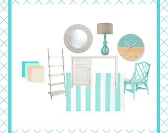 Mood Boards, Colour Scheme, Furnishing ideas & Home decoration
