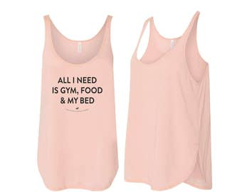 All I Need Side Slit Tank