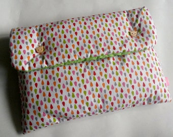 """Padded pouch """"Sour candy"""" 26 x 20 cm"""