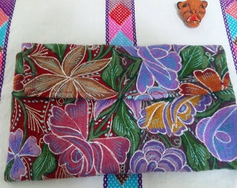 Envelope hand embroided bag