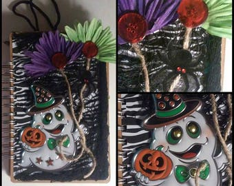Halloween Scrapbook Journal