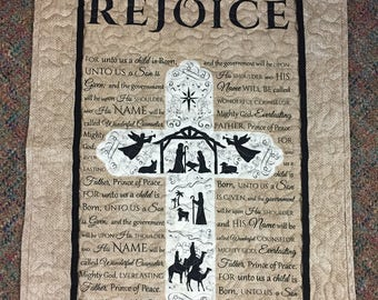 Rejoice Wall Hanging