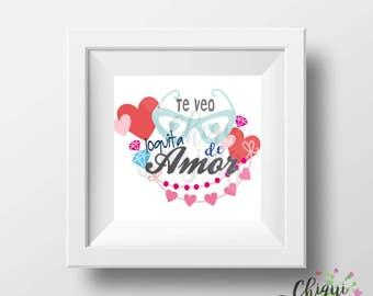 Te veo loquita de amor - I ll see you crazy of love