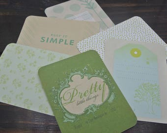Keep It Simple Project Life Cards , project life , becky higgens , crafts , scrapbooking , journaling