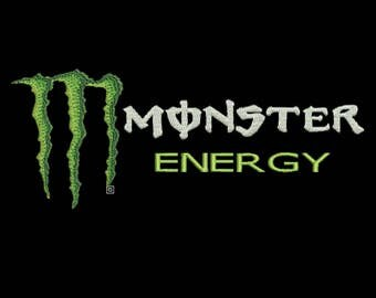 Monster Energy embroidery file