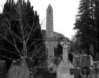 Ancient Round Tower, Glendalough, Co. Wicklow. Ireland