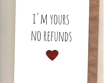 Funny ANNIVERSARY card / Husband / Wife / Partner  /Humour / Banter / Fun /Rude / Cheeky / Greetingcards  - No Refunds