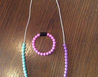 Easter colors teething set
