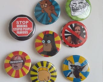 Meme pins/buttons