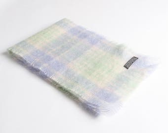 Champ/Mint Mohair Scarf