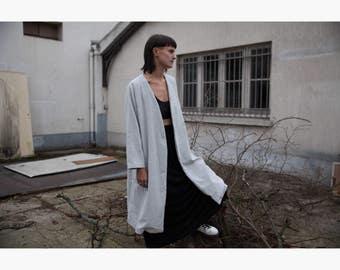 kimono jacket grey 38