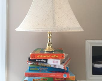Custom Children's Book Lamp