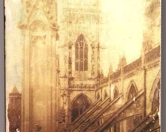 Yorkminster, York, UK. Glicee Photo Monotype, on stretched cotton canvas.