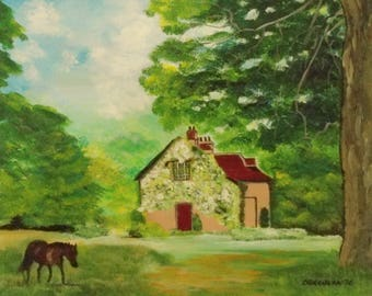Idyllic - Limited Edition Giclee Print, Living room decor, Bedroom decor