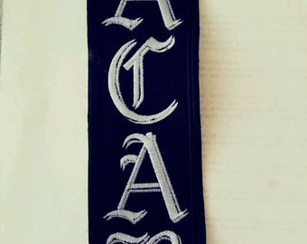 ACAB Patch, black & White. HARLEY Outlaw 1%er