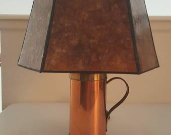 Brass Bottle Lamp