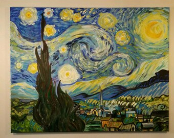Starry Night by Van Gogh 22×28