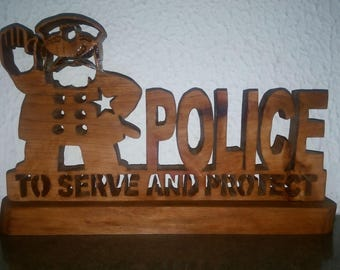 Police to serve and protect