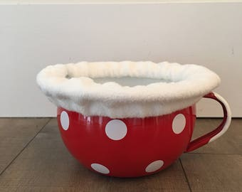 Chamber Pot Cozy in Bamboo Fleece