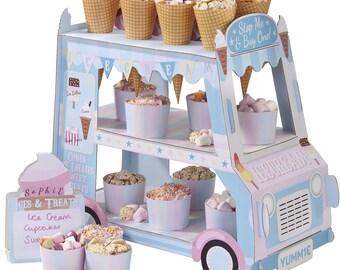 Street Stall Ice Cream Van
