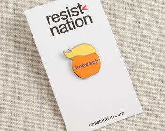 Impeach Trump — Lapel Pin