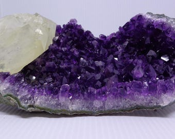 Super Extra Quality Amethyst Druzy/Cluster with Calcite