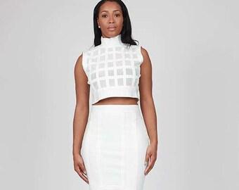 Bandage Skirt Set.M L XL 1X 2X.