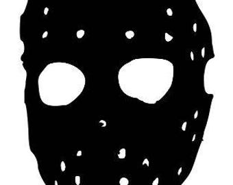 Jason Vorhees Mask Friday the 13th Horror Vinyl Car Decal Bumper Window Sticker Any Color Multiple Sizes