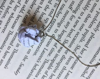 Alice in Wonderland - Paper Ball Pendant