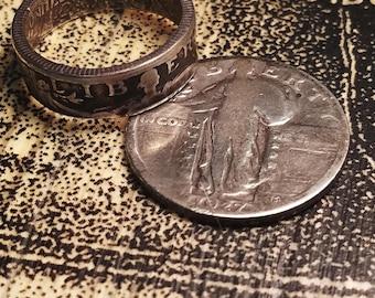 1926 Standing Liberty Quarter Ring