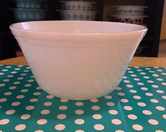 "Federal 9"" White Nesting Bowl"