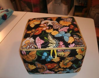 Butterfly Garden Fabric Box