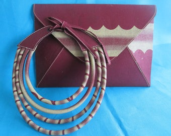 Clutches and necklace wax