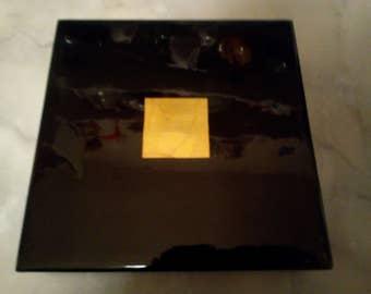 Burma lacquer jewelry box