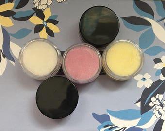 Raspberry Lemonade Lip Scrubs!
