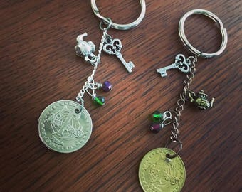 Mad T Party Keychain