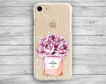 iphone 7 case iphone 6 case chanel iPhone 7 plus iphone chanel samsung s7 chanel chanel iphone 7 clear case phone 6s case galaxy case floral