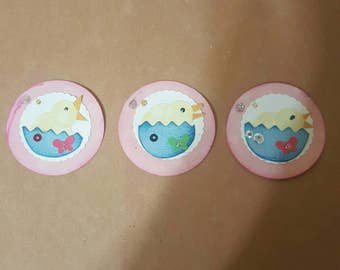 Baby chick embellishments