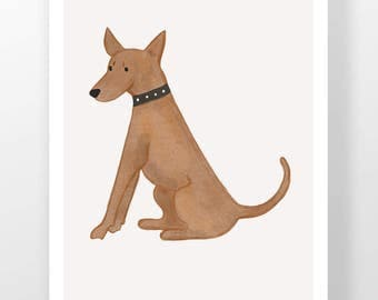 Miniature Pinscher Illustration