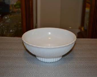 Milk Glass Planter Bowl